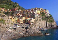 Cinque Terre, Manarola, Unescos liste over Verdensarven, Liguria, Nord-italia