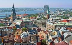 Domkirkeplassen, Riga, gamleby, Unesco Verdensarven, Latvia, Baltikum