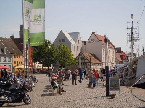 Lohberg,  Wismar, Østersjøen, middelalder, Backsteinsgotik, Ostsee, Unesco Verdensarv, Gamlebyen, Altstadt, Hansestadt Wismar, Mecklenburg Vorpommern, Nord-Tyskland
