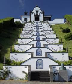 Azorene, Kirken Ermida da Nossa Senhora da Paz, Sao Miguel,