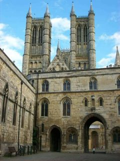 Lincoln, Exchequergate, High Bridge, Lincoln Cathedral, Minster, England, Brayford Pool, romertid, middelalder, Castle Hill, Magna Carta, Steep Hill, Bailgate, early british gothic
